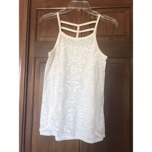 ⚡️FLASH SALE⚡️Cream Lace Tank